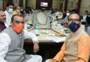 मुख्यमंत्री से मिले प्रदेश अध्यक्ष व संगठन महामंत्री, दिल्ली से चर्चा के बाद जारी होगी सूची